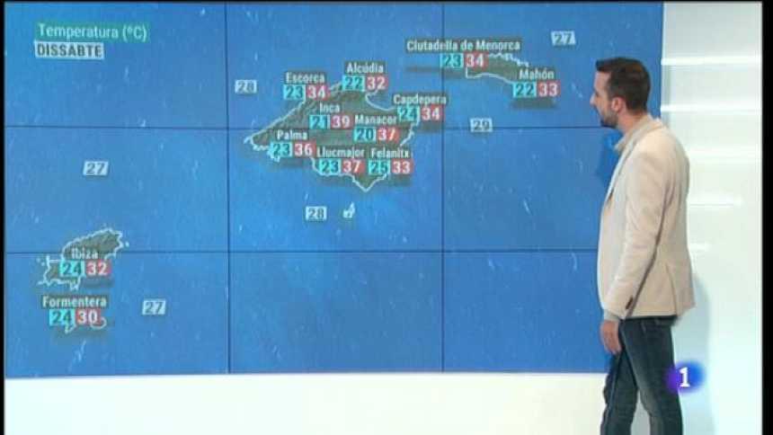 El temps a les Illes Balears - 31/07/20