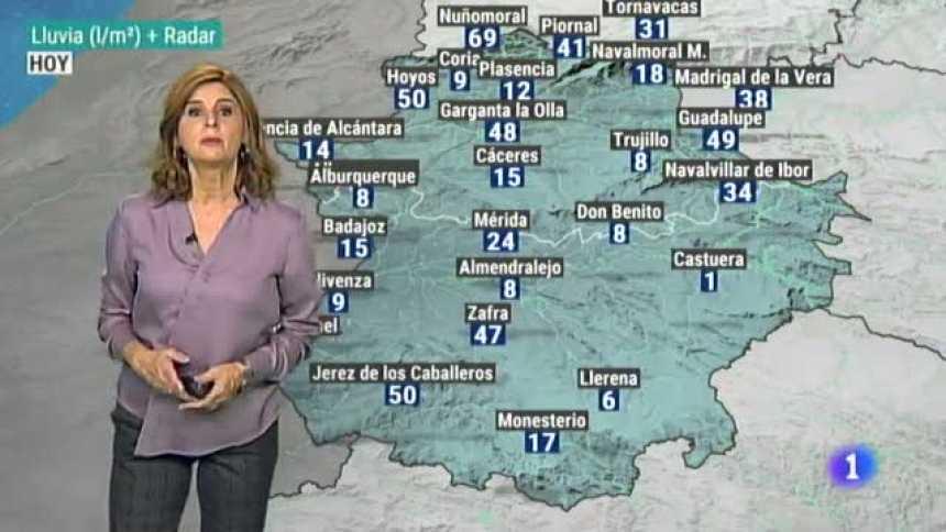 El tiempo de Extremadura - 20/10/2020