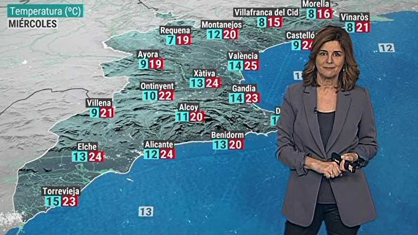 El tiempo en la Comunidad Valenciana - 26/01/21