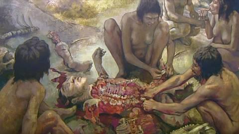 Arqueología del canibalismo