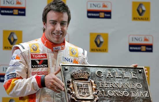 Circuito Fernando Alonso Oviedo : Alonso toda una exhibición en oviedo la nueva españa