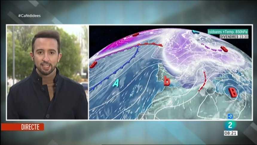 El Temps - Divendres de fred, pluja i neu