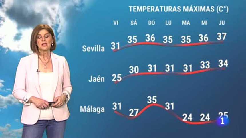 El tiempo en Andalucía - 14/05/2021