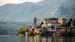 La isla de San Giulio y la Riviera De Orta