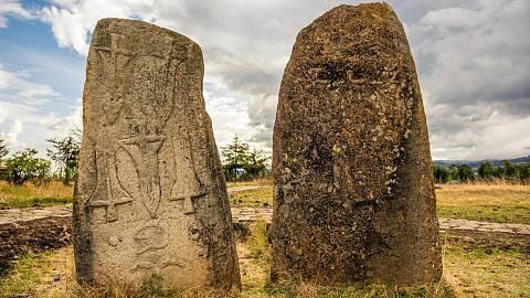 Etiopía: megalitos de Tiya