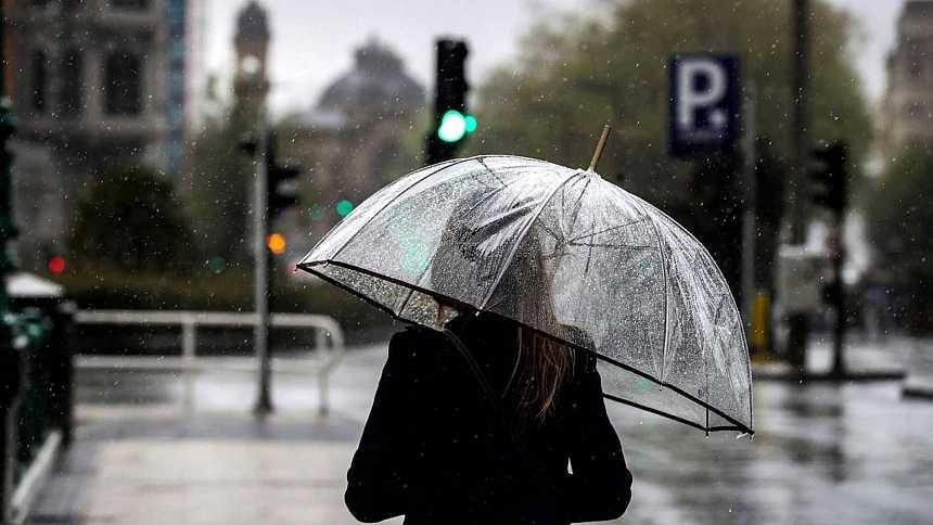 La semana empieza con lluvia en el norte peninsular y poco nuboso en el resto