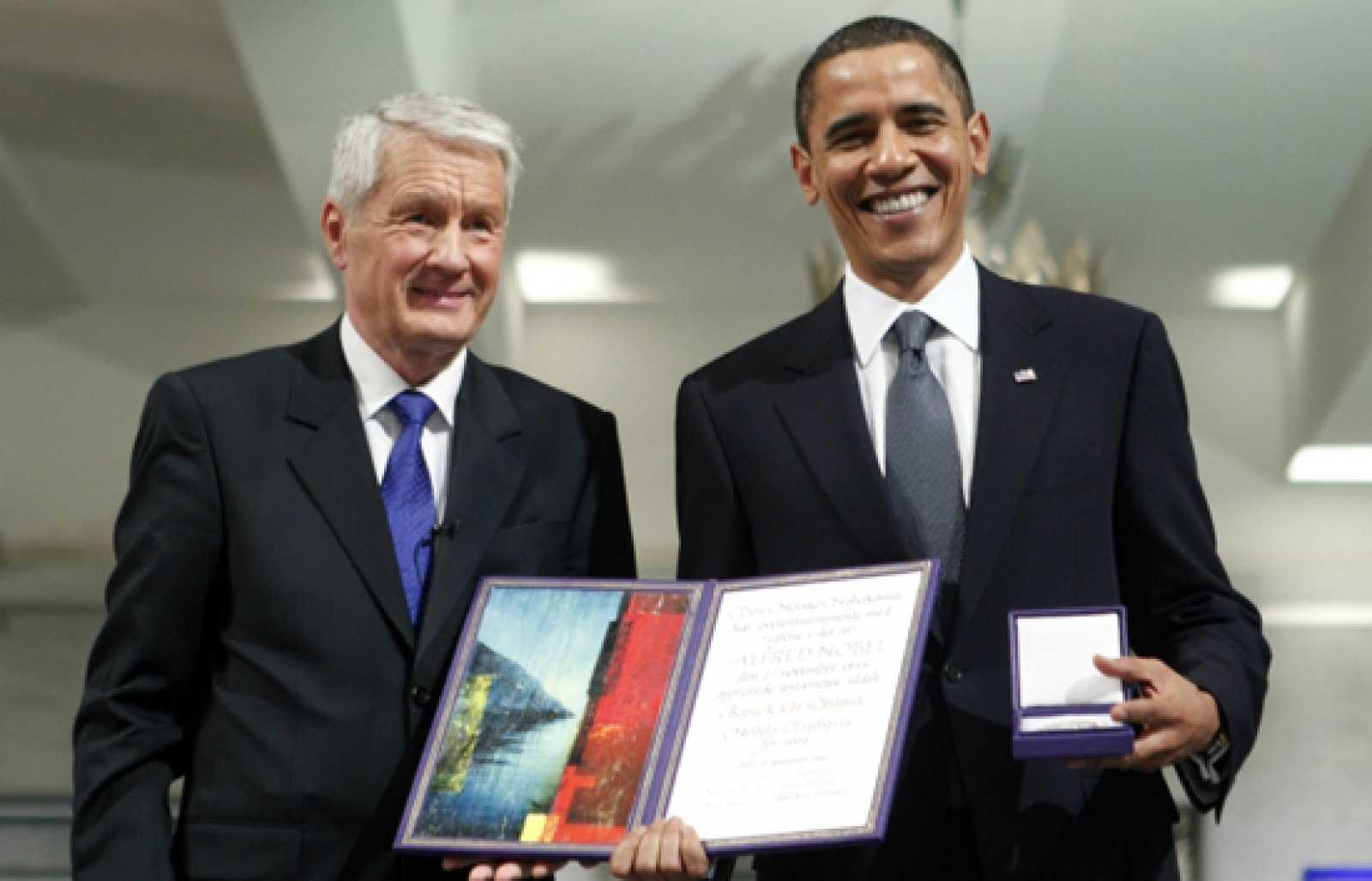 Resultado de imagen para Barack Obama premio nobel