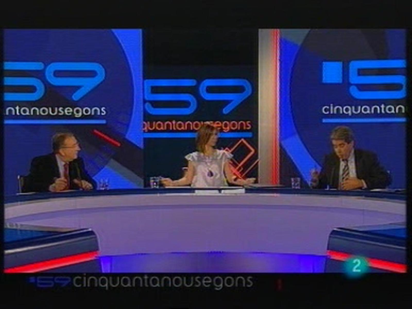59 Segons Va Abordar La Situaci Poltica I Econmica A Catalunya Reproducir Video