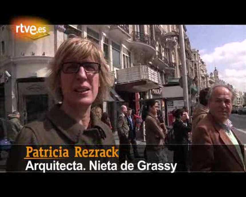 El primer tramo de la Gran Vía de Madrid