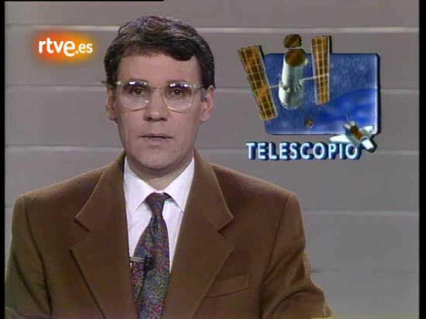 Lanzamiento del telescopio espacial 'Hubble' (1990)