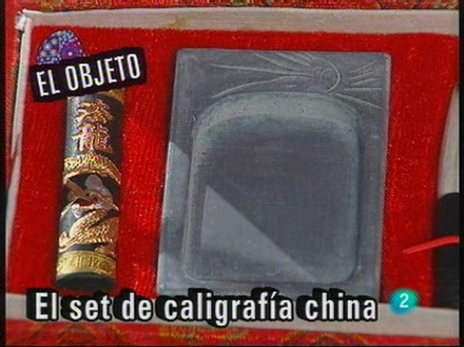 Babel en TVE - El objeto: El set de caligrafía china - RTVE.es