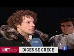Corazón - Eurovisión 2010 Diges: 'Miraba por si sacaba un arma'
