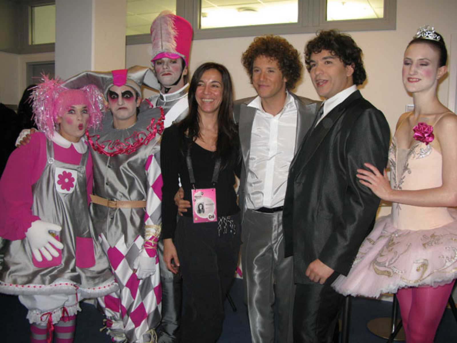 Backstage de la Final de Eurovisión