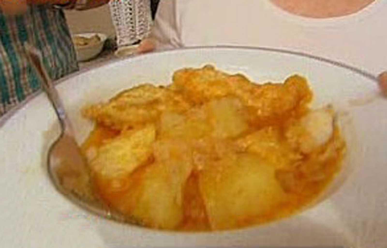 Espa a directo patatas con bacalao - Patatas en caldo con bacalao ...