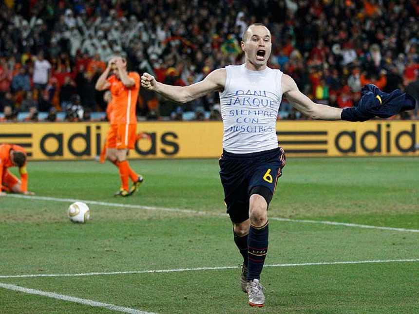 ¡Campeones del mundo! Holanda 0-1 España