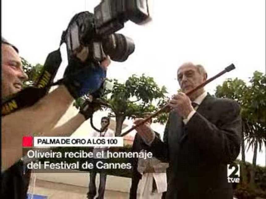 Homenaje a Oliveira en Cannes