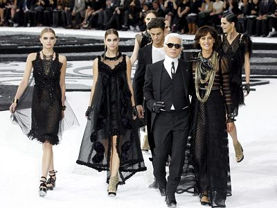 Desfile memorable de Karl Lagerfeld