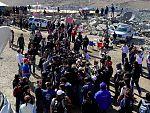 Los mineros chilenos acuden a una misa