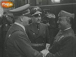 Franco-Hitler, en Hendaya