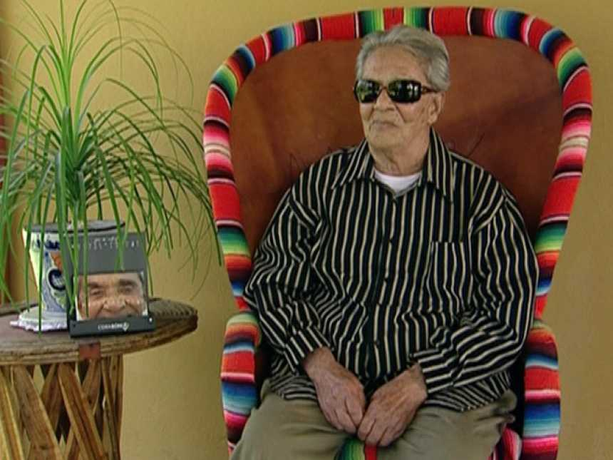 A sus 91 años Chavela Vargas continúa creando y cantando