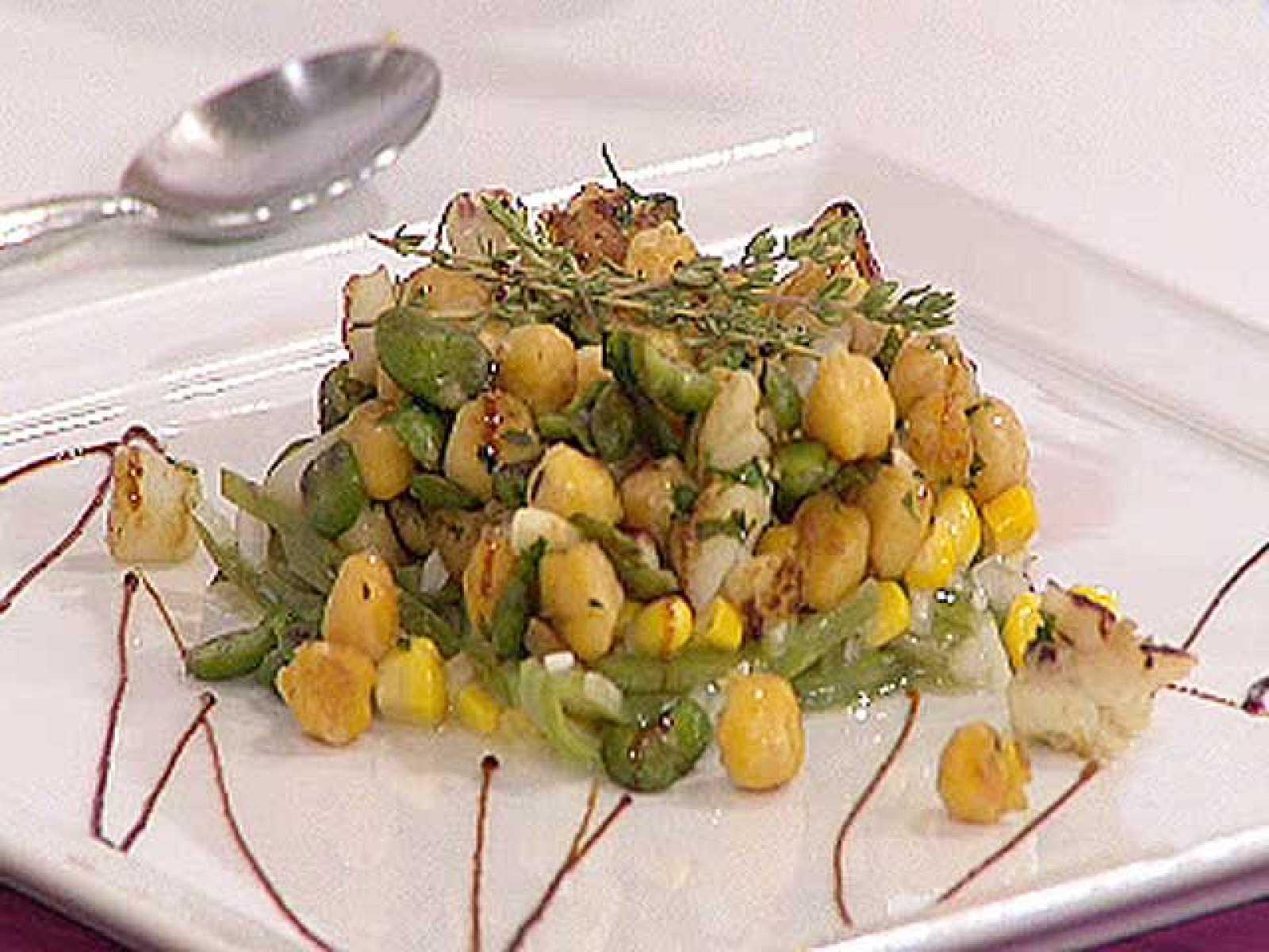 Saber cocinar sepia salteada con garbanzos y jud as for Cocinar judias verdes de bote