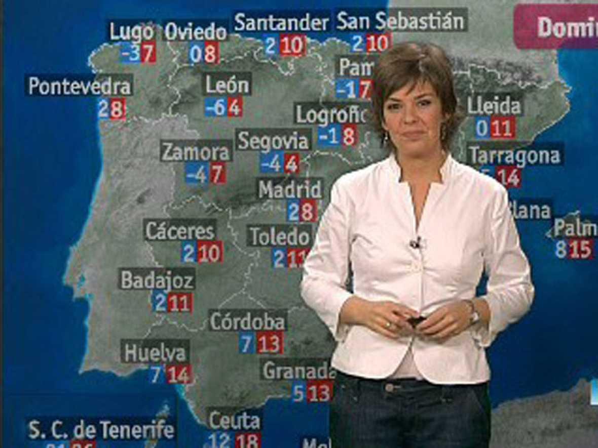 El tiempo nieve en el interior de catalu a castell n y - El tiempo torreblanca castellon ...