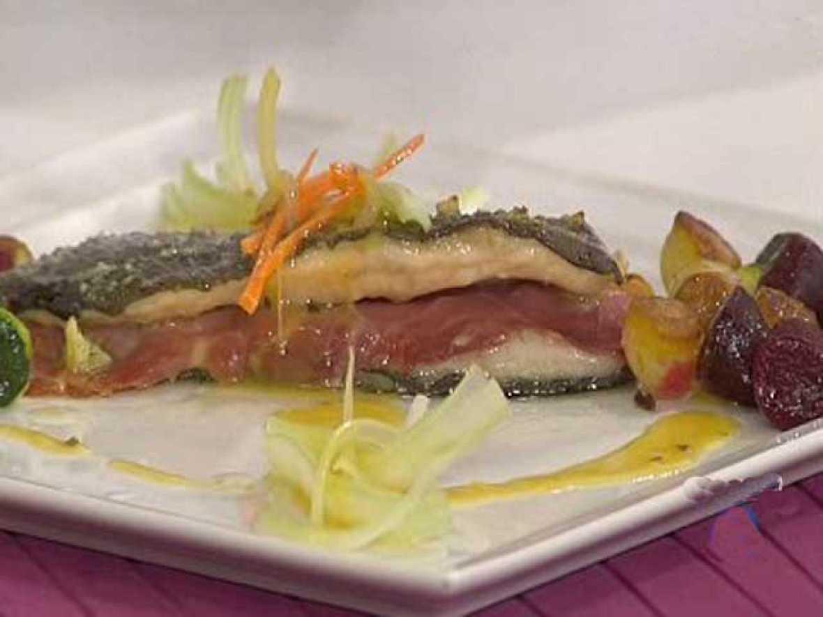 Cocinar Trucha | Saber Cocinar Trucha Al Horno Con Salsa De Naranja Rtve Es