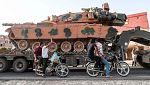 Estados Unidos se retira y la milicia kurda cede terreno al
