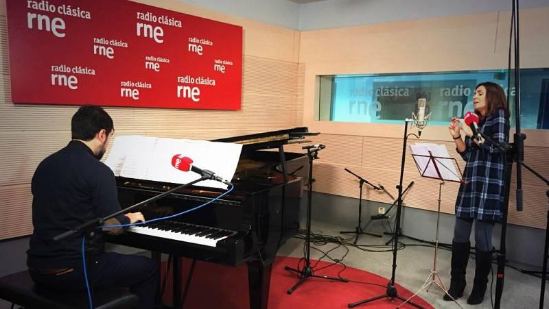 Los clásicos - Radio Clásica de fiesta: Sabina Puértolas y Héctor Guerrero, en vivo - 20/11/14 - escuchar ahora
