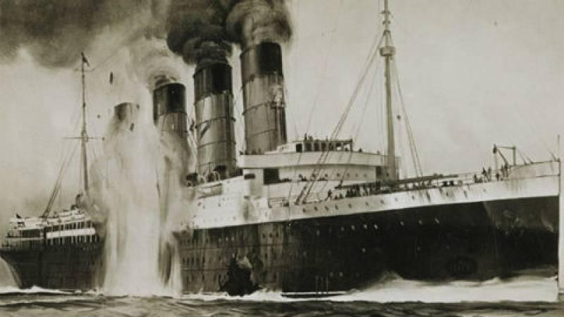 Documentos RNE - El hundimiento del Lusitania, un misterio cien años después - 01/08/15 - escuchar ahora