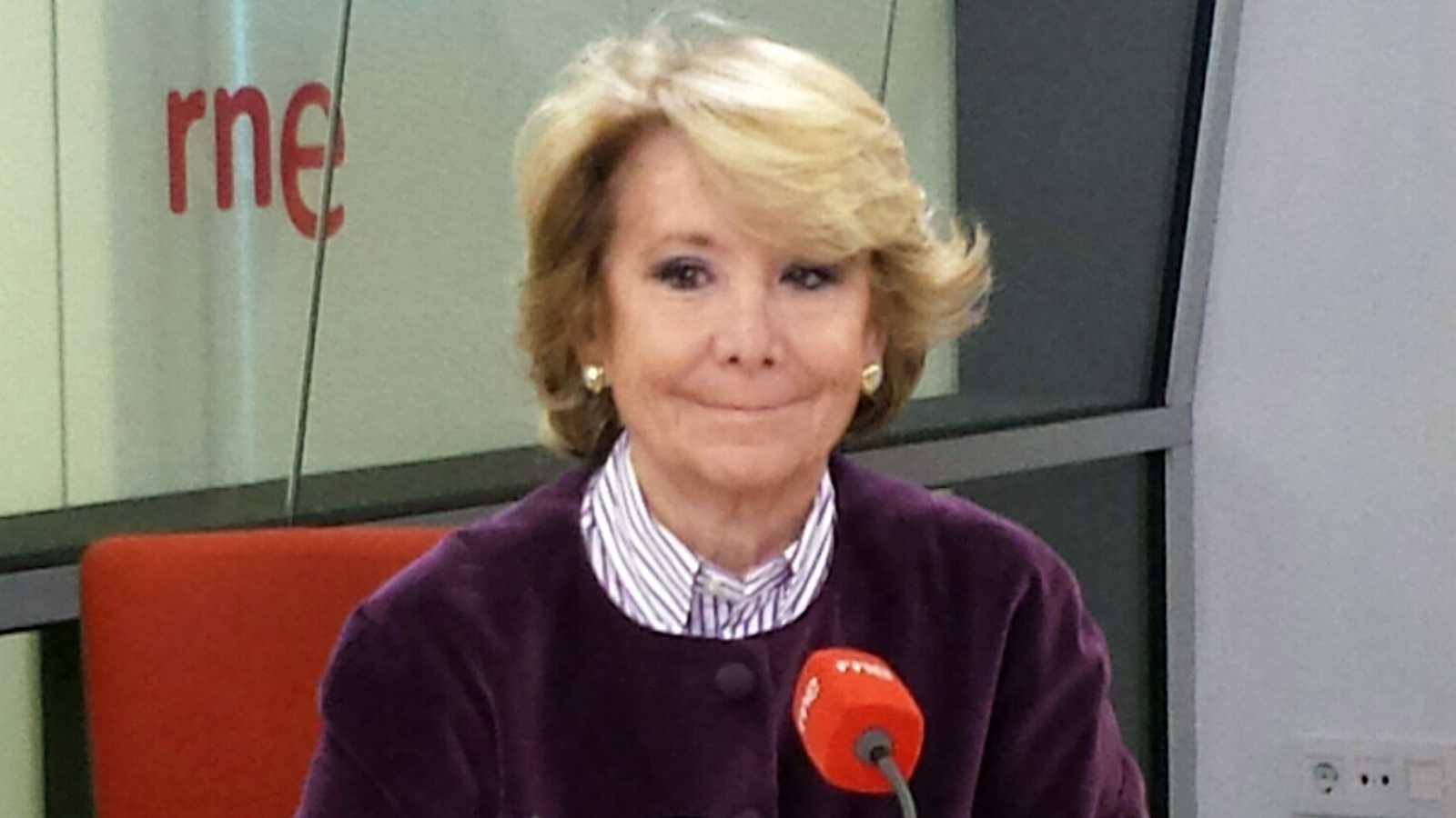 Las mañanas de RNE - Elecciones 24M - Entrevista a Esperanza Aguirre, candidata del PP a la alcaldía de Madrid - Escuchar ahora
