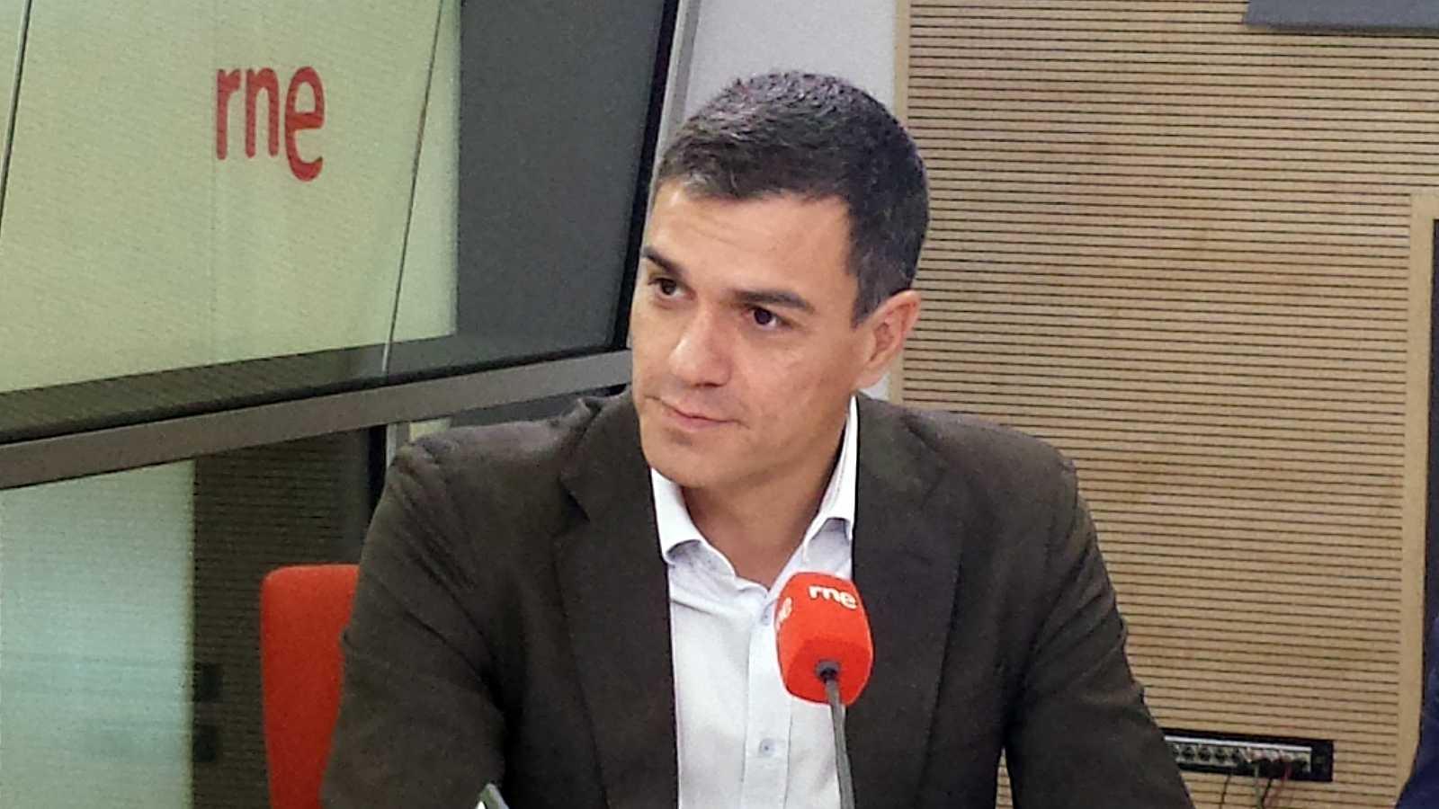 """Las mañanas de RNE - Pedro Sánchez: """"Los acuerdos de investidura nada tienen que ver con los pactos de legislatura"""" - Escuchar ahora"""