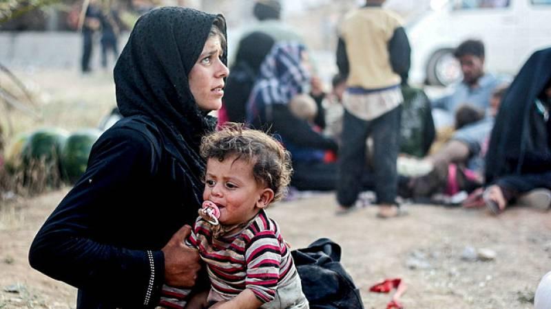 Entre paréntesis - 60 millones de personas desplazadas a causa de los conflictos bélicos - Escuchar ahora