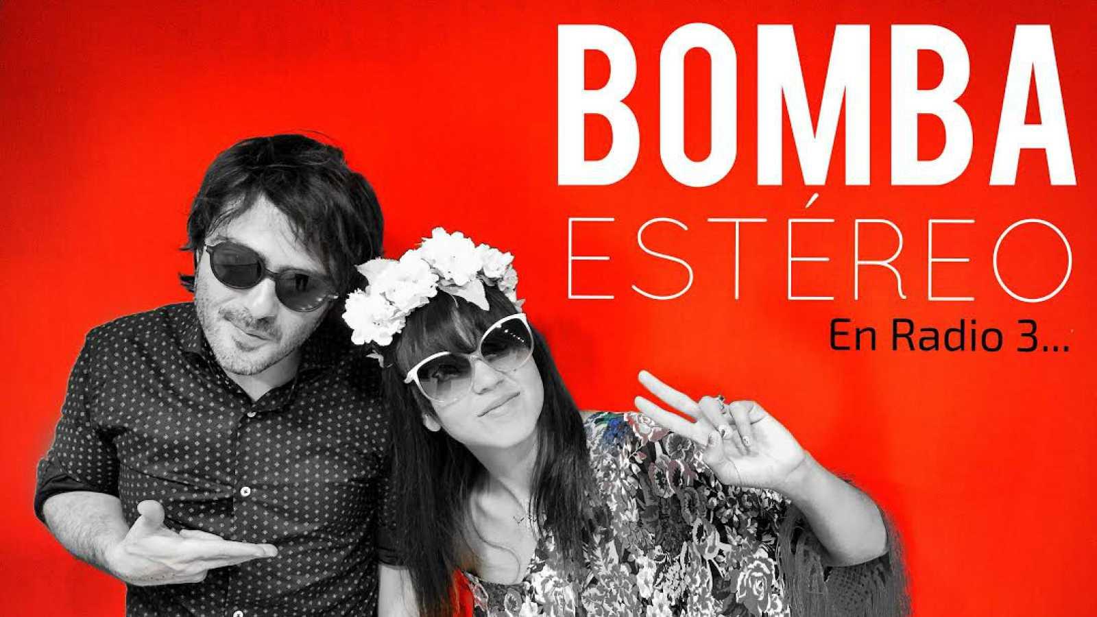 En Radio 3.... - Bomba Estéreo - 25/07/15 - Escuchar ahora