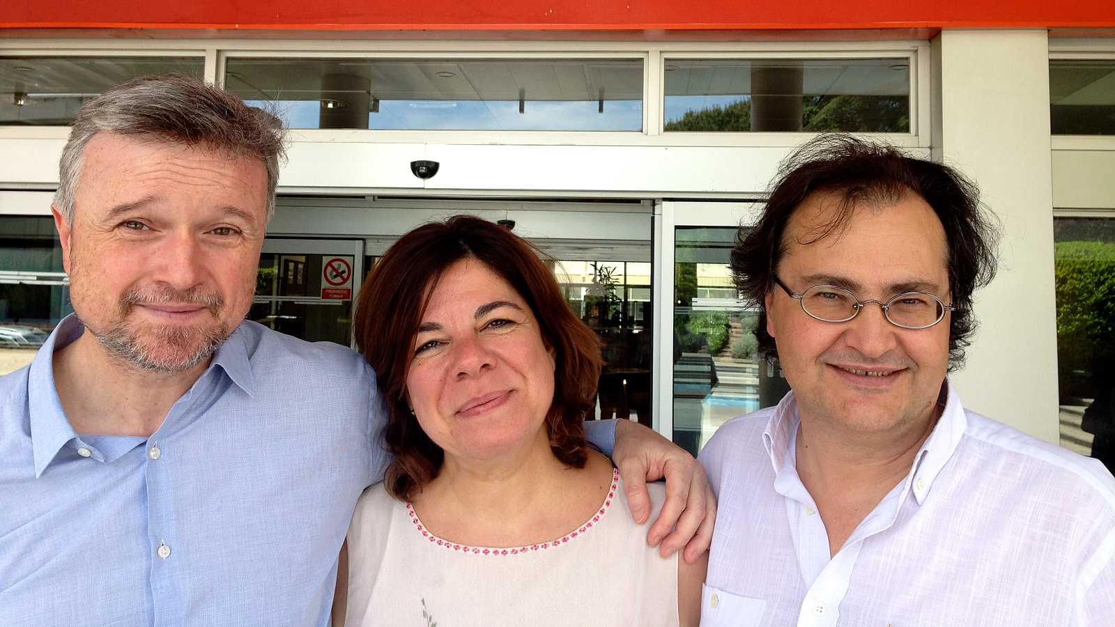 He venido aquí a hablar de lo mío - Juan Manuel Bellver y  Luis Miguel Úbeda - 20/08/15 - Escuchar ahora