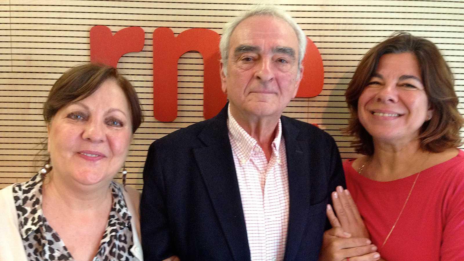 He venido aquí a hablar de lo mío - Carmen Linares y José María Velázquez-Gaztelu - 21/08/15 - Escuchar ahora