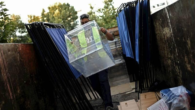 Diario de las 2 - Todo preparado en Grecia para las elecciones - Escuchar ahora