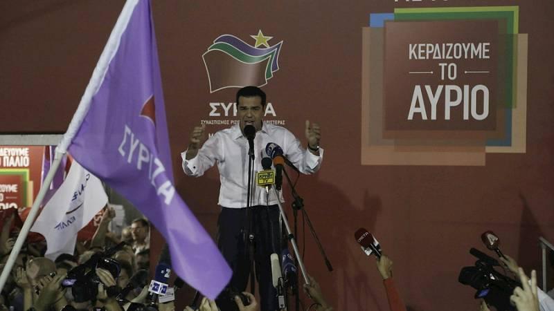 Las mañanas de RNE - Tsipras consigue la segunda oportunidad que pedía a los griegos - Escuchar ahora