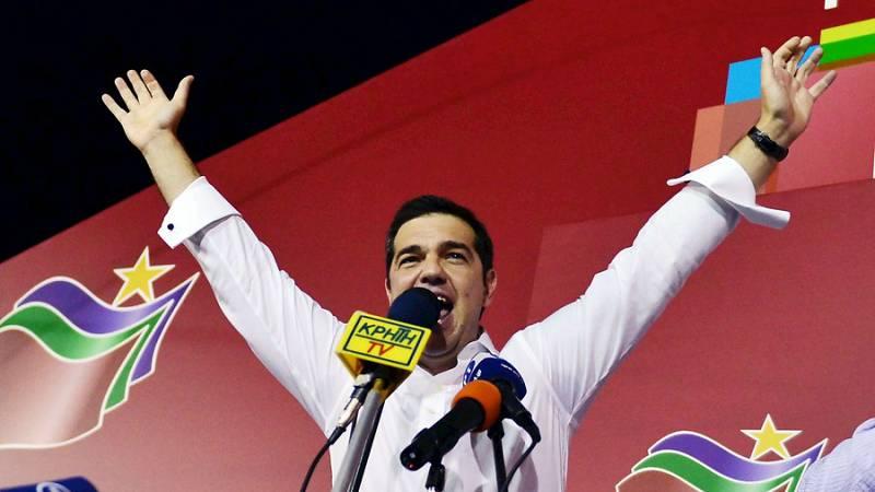 Boletines RNE - Alexis Tsipras podría jurar su cargo este mismo lunes - Escuchar ahora