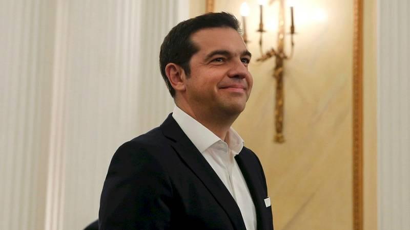 Boletines RNE - Alexis Tsipras ultima la composición de su gobierno - Escuchar ahora