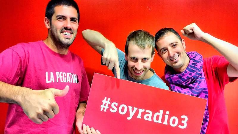 En Radio 3... - La Pegatina - 26/09/15 - escuchar ahora