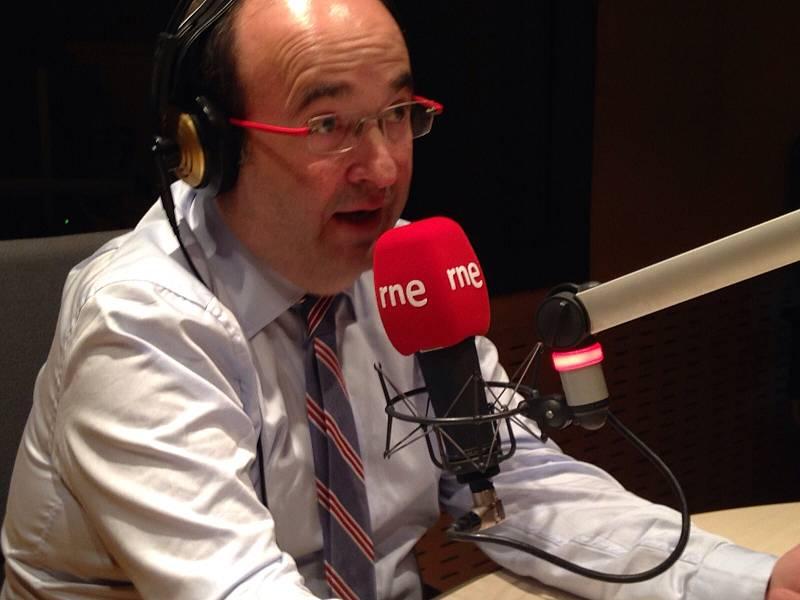 """24 horas - Miquel Iceta (PSC): """"Es posible conciliar un sentimiento catalanista y compartir con España un proyecto común"""" - 05/10/15 - Escuchar ahora"""