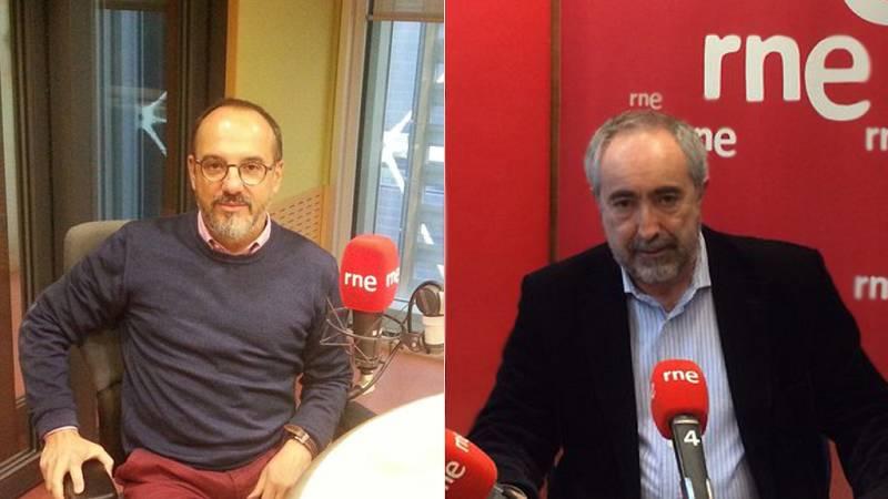 Las mañanas de RNE - Entrevistas electorales - Carles Campuzano (Democràcia i Llibertat) y Rafael Larreina (EH Bildu) - Escuchar ahora
