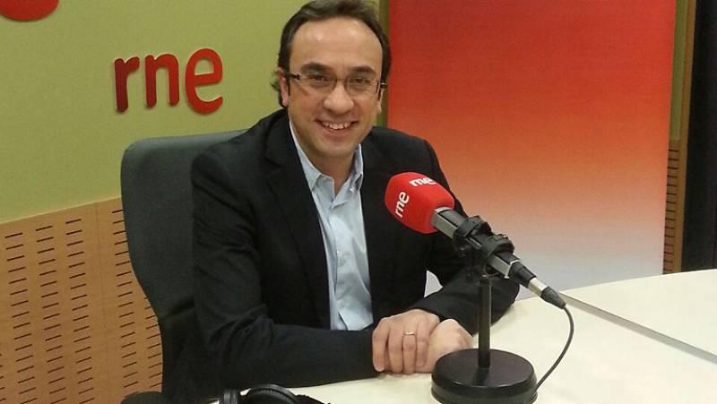 """Las mañanas de RNE - Josep Rull (JxS): """"Si el domingo no hay voto favorable, vamos a nuevas elecciones"""" - Escuchar ahora"""
