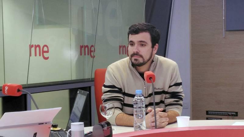 Las mañanas de RNE - Alberto Garzón: El voto de IU a Pedro Sánchez dependerá del programa - Escuchar ahora
