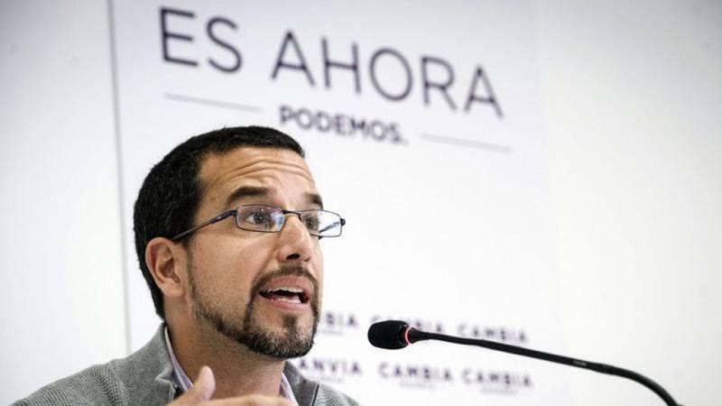 """Las mañanas de RNE - Sergio Pascual (Podemos): """"Una mesa de negociación con Compromís, el PSOE e Izquierda Unida sería una buena forma de empezar a buscar soluciones"""" - Escuchar ahora"""