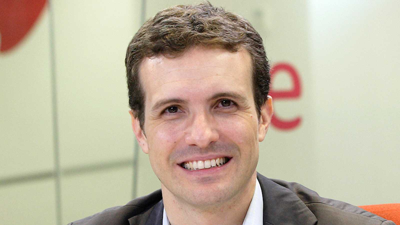 """24 horas - Pablo Casado (PP): """"Vemos bien un Gobierno de coalición con otras fuerzas e independientes"""" - 03/03/16 - Escuchar ahora"""