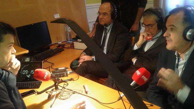Las mañanas de RNE - Los eurodiputados Iturgaiz, Jáuregui y Duch piden mayor coordinación policial en la Unión Europea - Escuchar ahora