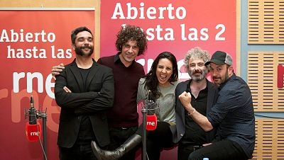 """Abierto hasta las 2 - León Benavente: """"Este es un disco mucho más osado"""" - 15/05/16 - escuchar ahora"""