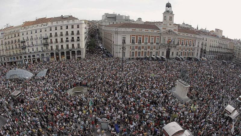 Cinco años del 15M, un movimiento de hartazgo social contra la crisis y el sistema
